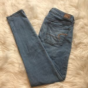 Size 4 American Eagle Super stretch jagging's
